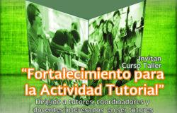FORTALECIMIENTO PARA LA ACTIVIDAD DE TUTORIAS 2016 Poster