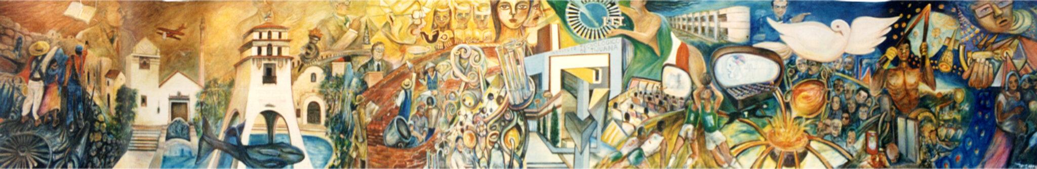Mural ITT calafornix