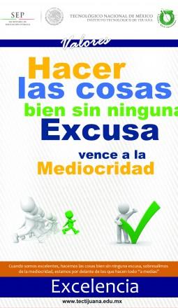 valores excelencia Poster