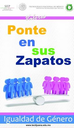 valores igualdad de genero Poster