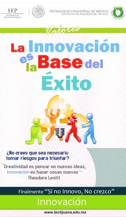 valores innovacion Poster