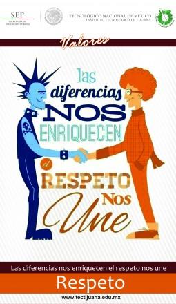 valores respeto Poster