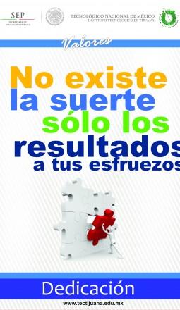 valoresdedicacion Poster