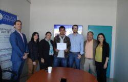 En la presentación final del programa de Educación Dual en la empresa Sonata Services MX, muchas felicidades al joven Ruben V. Torreblanca por su excelente trabajo