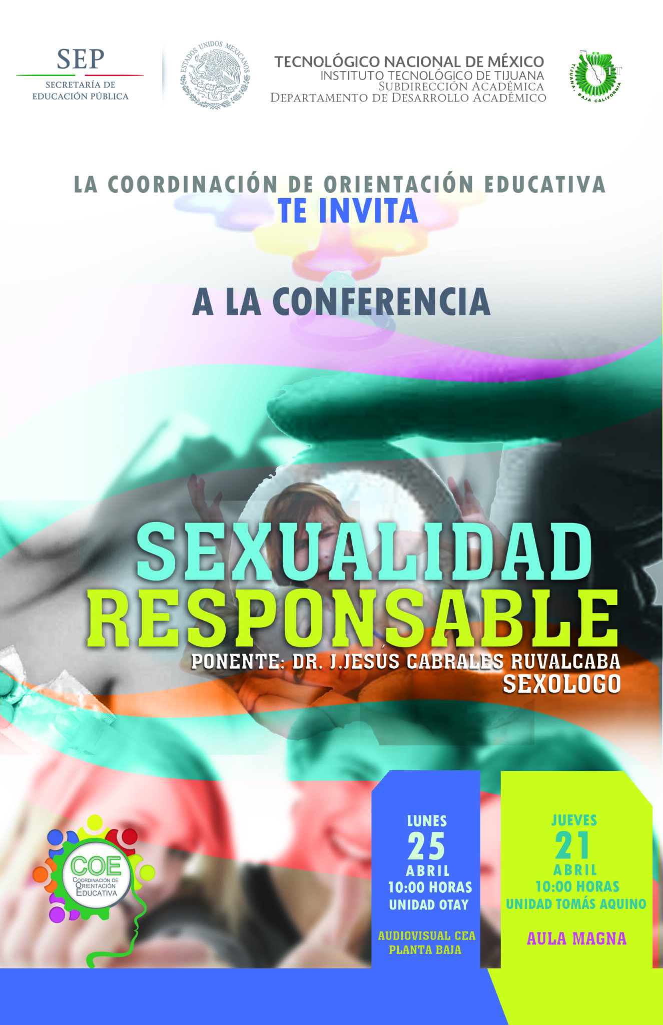 SEXUALIDAD RESPONSABLE POSTER 2016